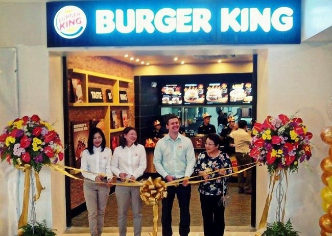 A New Burger King Opening In Cebu, Philippines