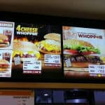 Different Types Of Whoppers At Burger King Philippines