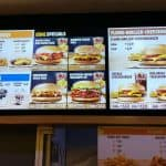 Fries, Onion Rings, Nuggets, And King Burger On Philippines Burger King Menu