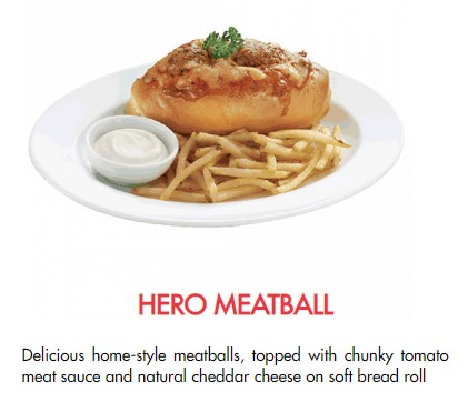 Hero Meatball Dish Tastes Amazing