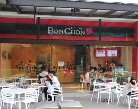 One Of The First Bonchon Stores In The Philippines