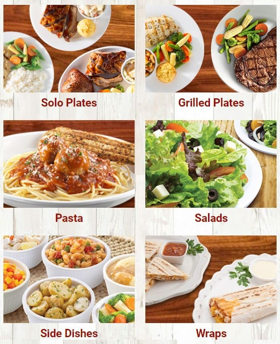 Sample Of The Kenny Rogers Menu Philippines