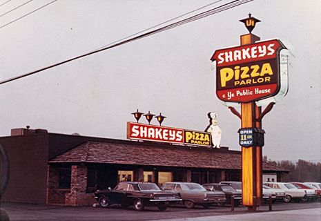 The First Shakey's Pizza Store In America