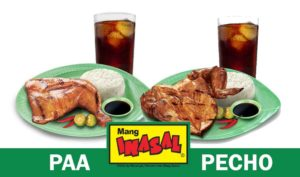Difference between Mang Inasal's Paa and Pecho
