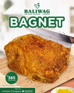 Philippines Baliwag Bagnet Promotional poster